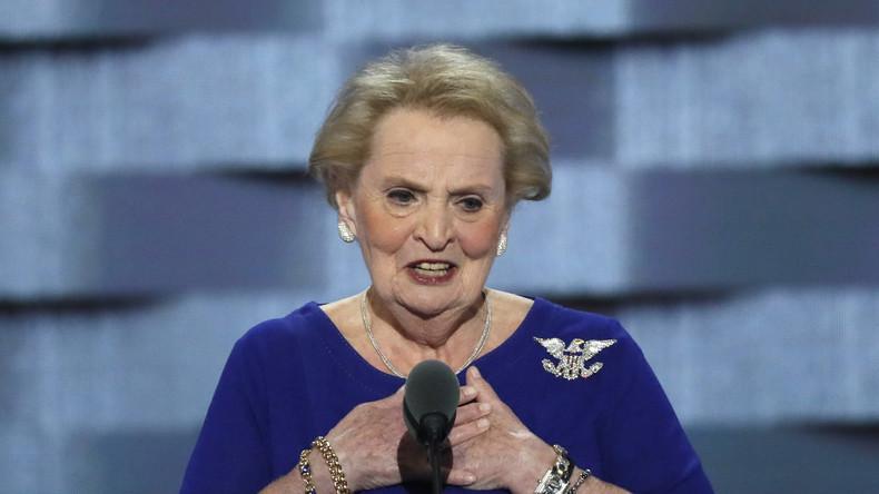 """Ex-Außenministerin Madeleine Albright: """"Trumps Wahl wird ein Geschenk für Putin sein"""""""