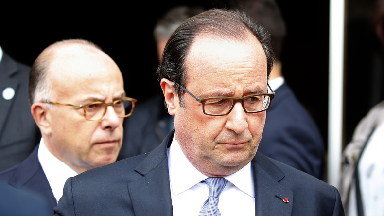"""Präsident Hollande nach Anschlag auf Kirche: """"Frankreich befindet sich im Krieg"""""""