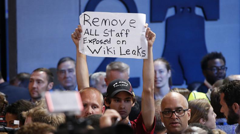Weitere Enthüllungen: WikiLeaks veröffentlicht Voicemails der US-Demokraten