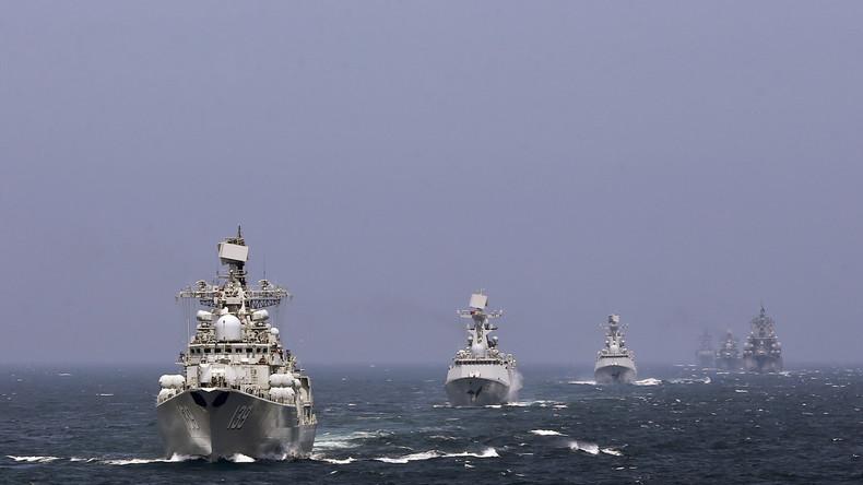 """""""Im Kontext wachsender Spannungen"""" - Chinesisch-russische Manöver im Südchinesischen Meer"""