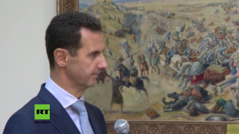 Assad: Damit der Krieg ein Ende nimmt - Amnestie für Kämpfer, die ihre Waffen niederlegen