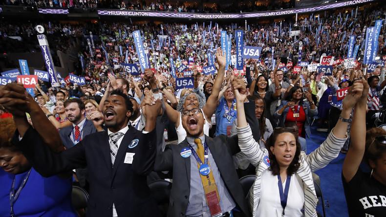 """""""Gekaufte Jubler?"""" - Was der Mainstream von Hillarys Nominierungsparteitag verschwieg und wegschnitt"""