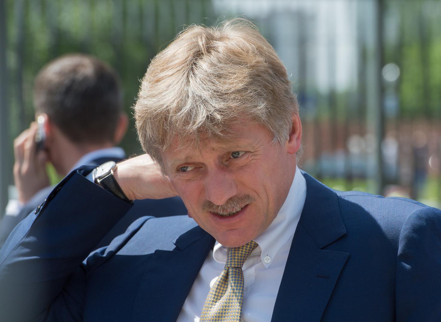 Dmitri Peskow, Pressesprecher des Russischen Präsidenten