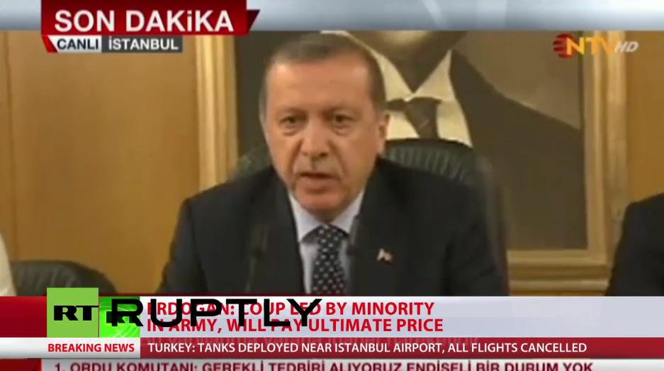 Putsch in der Türkei - Regierung erlangt Kontrolle zurück [Updates]
