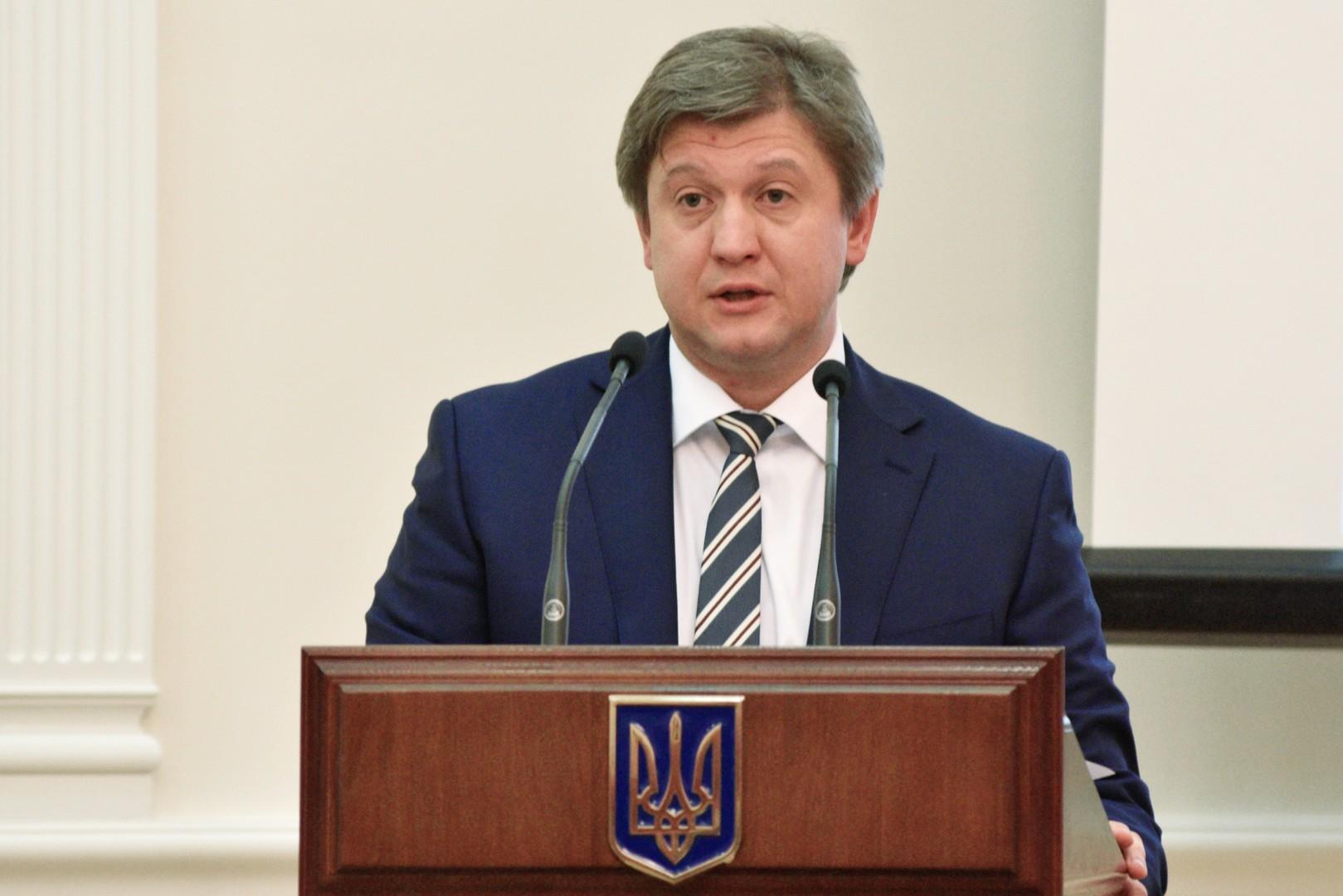 Ukrainischer Finanzminister Alexander Daniljuk