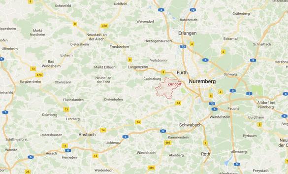 Verpuffung in Zirndorf: Polizei gibt Entwarnung
