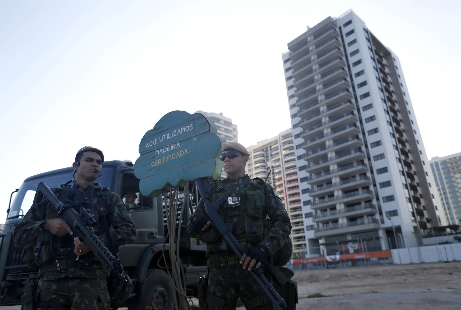 Polizei in Rio entdeckt olympische Drogen und kämpft mit Überfällen und Entführungen