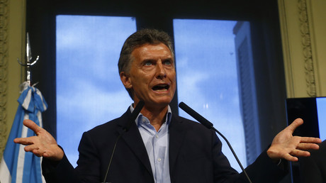 Argentiniens Präsident Mauricio Macri