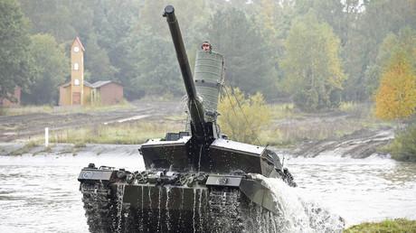 Weltweit beliebt bei Rüstungseinkäufern: Der Leopart 2-Kampfpanzer aus deutscher Produktion