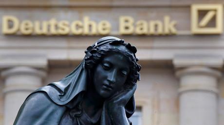 Keinen Grund zur Freude hat zurzeit die Deutsche Bank.