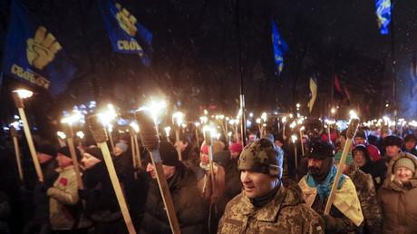 Seit dem Maidan-Umsturz im Aufwind: Ukrainische Nationalisten