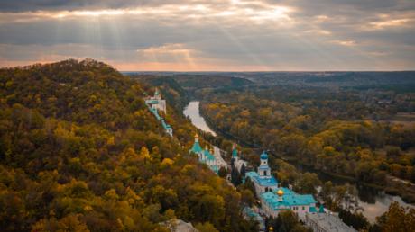 Das Kloster Swjatogorsk, Ausgangspunkt der Kreuzprozession