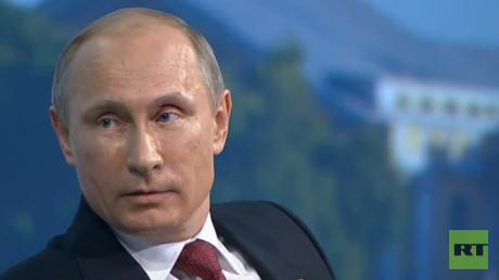 Russlands Präsident Wladimir Putin äußerte sich über die Anschuldigungen gegen Edward Snowden