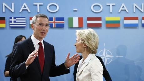 Auf einer Linie: NATO-Generalsekretär Jens Stoltenberg und Bundesverteidigungsministerin Ursula von der Leyen