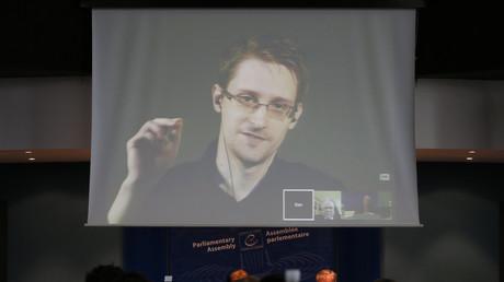 Öffentliche Auftritte außerhalb Russlands sind für Edward Snowden weiterhin nur per Videostream möglich