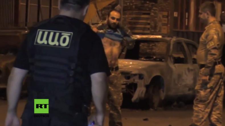 Armenien: Geiselnahme in Jerewan nach zwei Wochen beendet – Bewaffnete ergeben sich