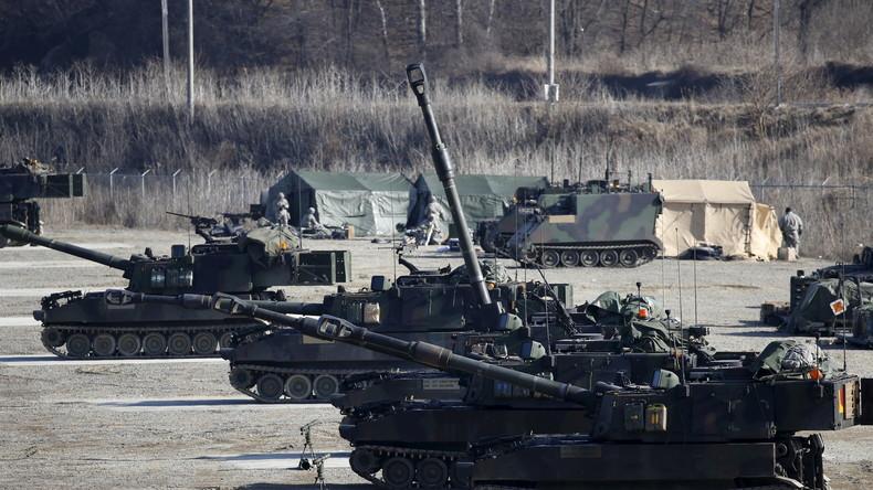 """""""Feuer-Donner 2016"""" : Über 1.000 NATO-Militärs und Artilleristen aus Ukraine zu Manövern in Litauen"""