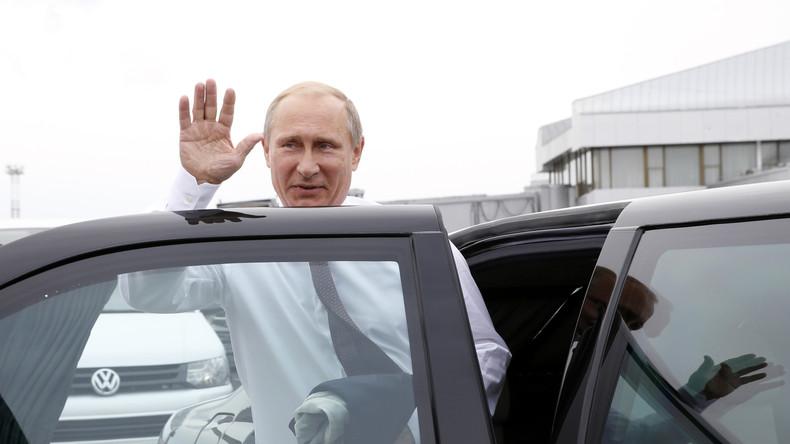 Laut Tagesschau jetzt auch schuld am Stau: Russlands Präsident Wladimir Putin