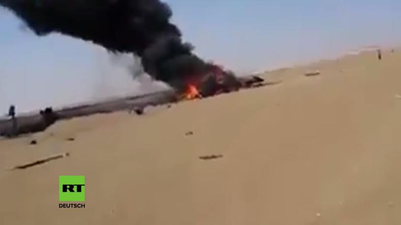 Syrien: Russischer Hubschrauber nach Hilfsmission in Aleppo abgeschossen