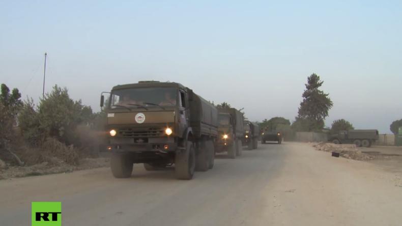 Syrien: Russland entsendet Hilfskonvoi für Flüchtlinge nach Aleppo