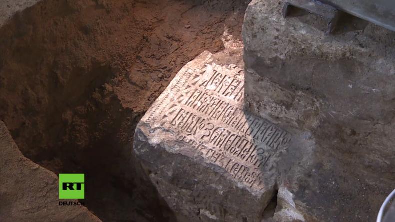 Russland: Archäologen entdecken Schätze und Bauten aus dem Mittelalter unter dem Kreml in Moskau