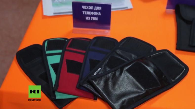 Weißrussland: Diese Tasche schützt Handys und weitere Geräte vor Abhör- und Phishing-Versuchen