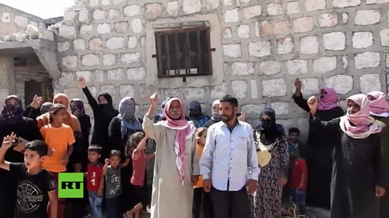 Syrien: Zivilisten und Militante fliehen weiterhin über humanitäre Korridore in  Aleppo