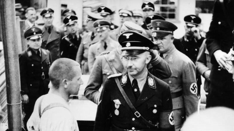 Terminkalender von Reichsführer der SS Heinrich Himmler in Russland gefunden