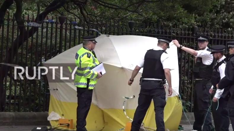 Live nach der tödlichen Messerattacke in London