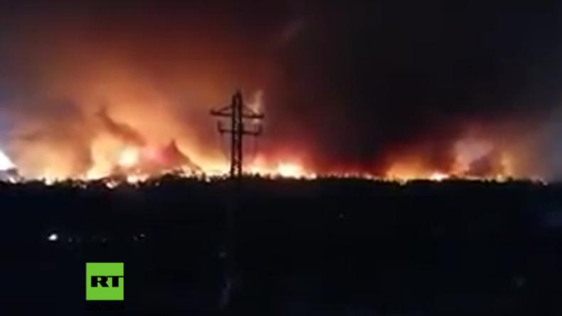 Deutscher verursacht Großbrand auf La Palma – Ein Mensch beim Kampf gegen die Flammen getötet
