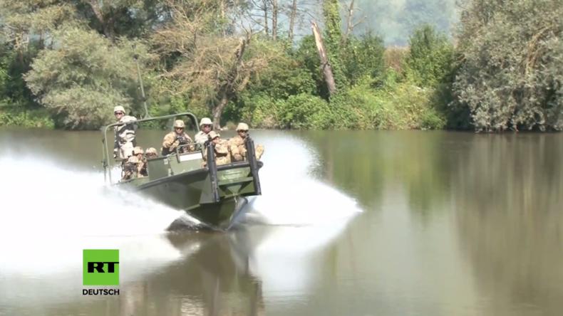 """Rumänien: Fast 2.800 Soldaten aus 10 Ländern beteiligen sich an Militär-Übung """"Saber Guardian 2016"""""""