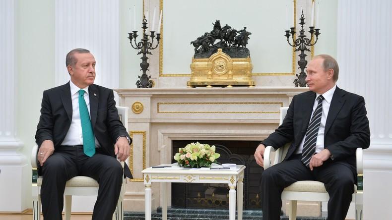 Live: Putin und Erdogan halten bilaterales Treffen in St. Petersburg ab