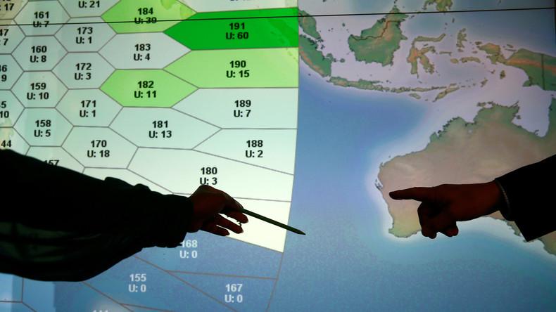 Australisches Verteidigungsministerium veröffentlicht neue Details zum Absturz von MH370