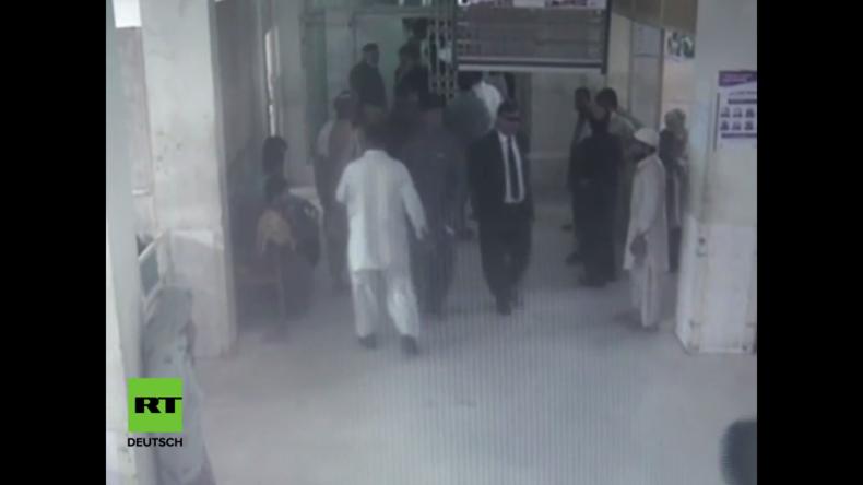 Pakistan: Video zeigt tödlichen Anschlag vor Krankenhaus in Quetta