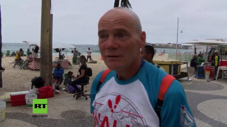 Rio, ich komme und zwar zu Fuß: 60-jähriger Russe wandert 18.200 Kilometer