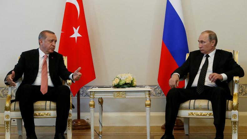 Tauwetter zwischen Türkei und Russland? Putin und Erdoğan treffen sich in Petersburg [Live-Updates]