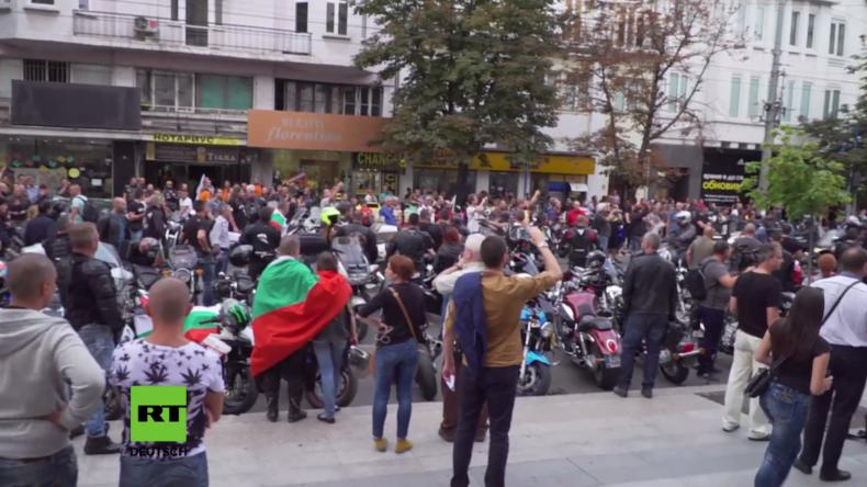 Bulgarien: Hunderte Biker demonstrieren für Verhaftung eines Türken, dem Totschlag vorgeworfen wird