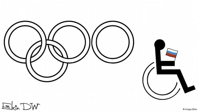 Verhöhnung des russischen Behindertensports? Deutsche Welle sorgt mit Karikatur für Empörung