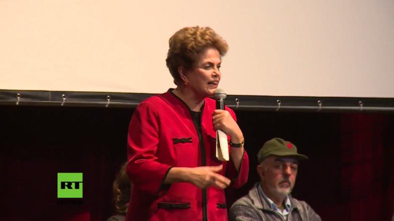 """Brasilien - Dilma Rousseff: """"Wir müssen diesen Putsch aufhalten"""""""
