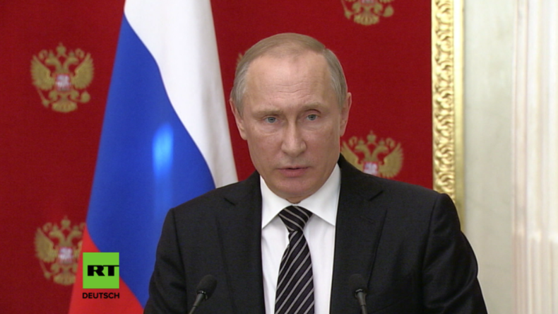 """Putin: Nach Tötung zweier Russen und Beschuss der Krim - """"Normandie-Verhandlungen mit Kiew sinnlos"""""""