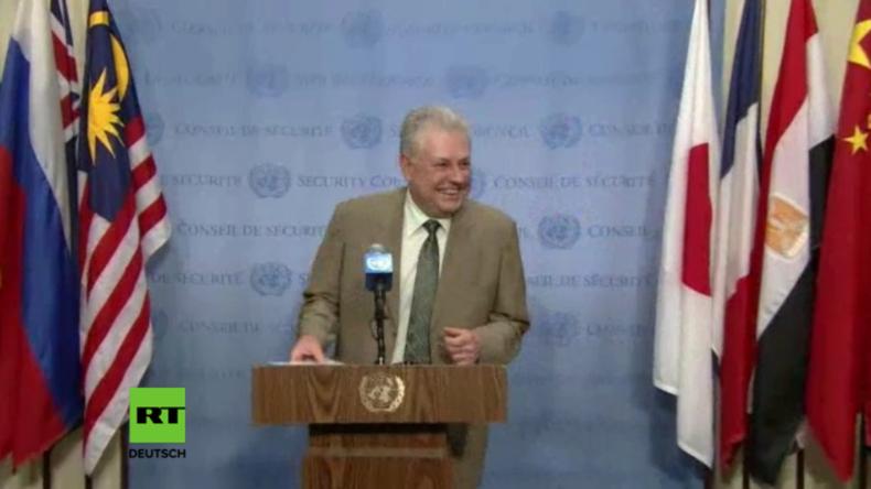 UN-Vertreter der Ukraine: Terrorpläne auf Krim erfunden - Nur weitere hybride Kreml-Kriegsaktion