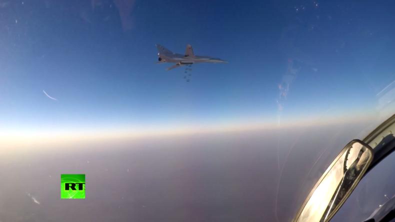Russland zerstört Chemiewaffen-Produktionsstätte des IS in Syrien