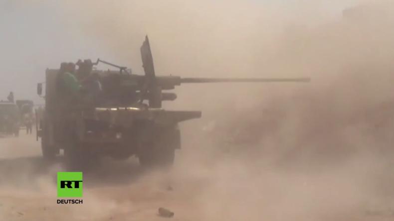 Syrisch Arabische Armee und Hisbollah starten Gegenoffensive in Aleppo