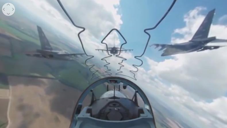 """""""Aviadarts 2016"""" in der 360° Perspektive: Im Cockpit einer russischen Jakowlew Jak-130"""