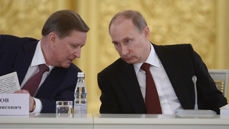 Wladimir Putin entlässt Chef der russischen Präsidialverwaltung Sergei Iwanow