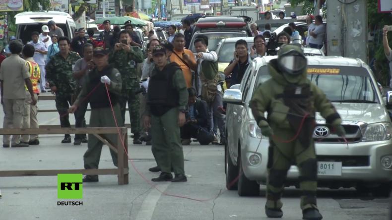 Thailand: Vier Tote nach Explosionsserie in Touristenhochburgen – Unter Verletzten auch Deutsche
