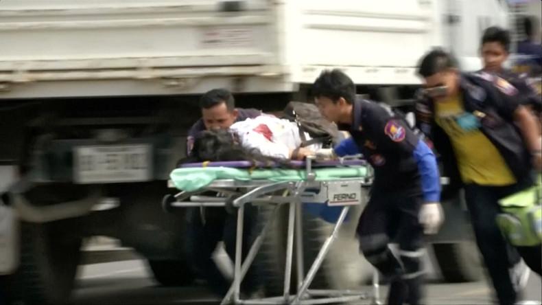 Anschlagsserie in Thailand: Mehrere Tote und Verletzte
