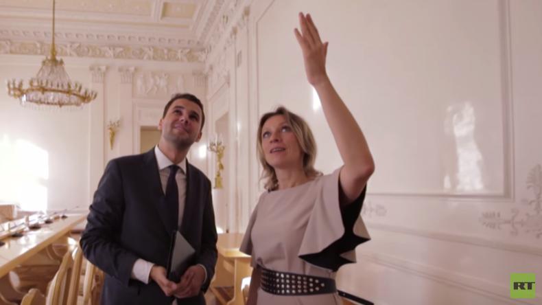 Blick hinter die Kulissen: RT besucht das russische Außenministerium