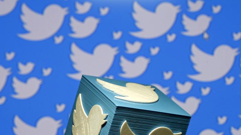"""Der kleine weiße Vogel auf blauem Grund ist das Symbol des Sozialen Netzwerkes Twitter. Das englische """"twitter"""" bedeutet """"zwitschern"""", ein Eintrag auf Twitter ist ein Tweet."""