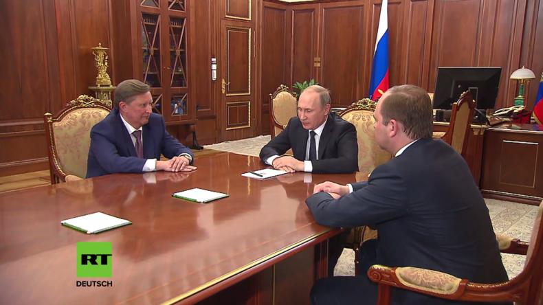 Moskau: Putin nimmt Iwanows Rücktritts-Bitte vom Amt des Leiters der Kreml-Administration an